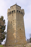 San Marino. The third tower. Montale Stock Photo