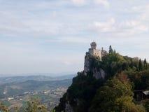 San Marino torre royaltyfria foton