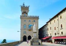 San Marino touristic Royalty Free Stock Image