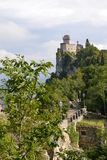 San Marino Tower No. 2 Royalty Free Stock Photos