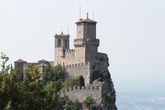 San Marino tower Stock Photos