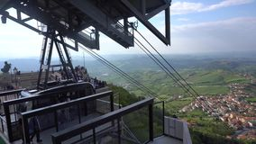 San Marino ulicy widok zbiory wideo