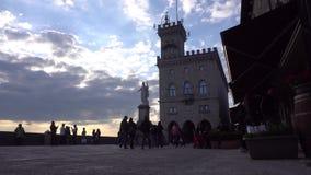 San Marino ulicy widok zbiory