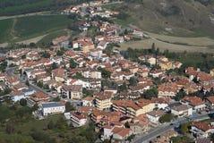 San Marino urban hillside Stock Image