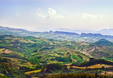 San Marino View. Royalty Free Stock Photo