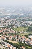 San Marino view Royalty Free Stock Photo