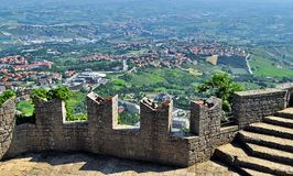 San Marino view Royalty Free Stock Image