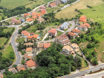 San Marino - View of the village Stock Images