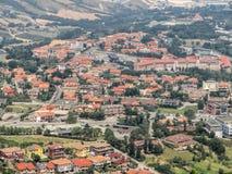 San Marino - View of the village Royalty Free Stock Image