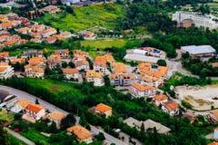 San Marino, widok od above Fotografia Stock