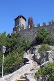 San- Marinokontrollturm Lizenzfreie Stockfotografie