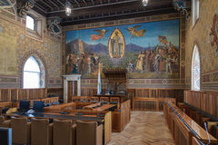 San- Marinoparlament Stockfoto