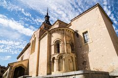 San Martin church, Segovia. Spain Royalty Free Stock Images