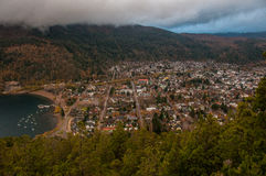 San Martin de los Andes, in Argentina.  Royalty Free Stock Images