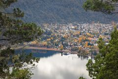 San Martin De Los Andes, Neuquen, Argentine Photos stock
