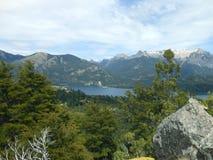 San Martin de los Andes. Photo of Lacar lake a forrest near San Martin de los Andes, Neuquen, Patagonia, Argentina Royalty Free Stock Image
