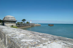 San-Martin-de-Re linea costiera Fotografia Stock Libera da Diritti