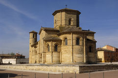 San Martin de Tours Church, Fromista, Palencia. Spain, Romanesque churc royalty free stock image
