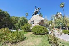 San Martin kwadrat w Mendoza, Argentyna Zdjęcia Stock