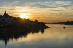 San Martin Loire di Canders Immagini Stock