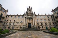 San Martin Pinario Monastery Santiago Compostela. Stock Image