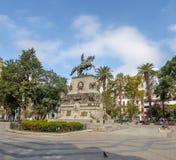 San Martin Square - Cordoba, Argentina arkivfoton