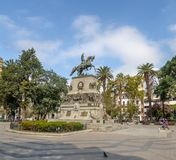 San Martin Square - Cordoue, Argentine photos stock