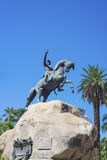 San Martin Square i Mendoza, Argentina. Fotografering för Bildbyråer
