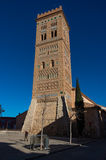 San Martin tower in mudejar style is a UNESCO World Heritage Sit Royalty Free Stock Photo