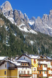 San Martino Castrozza Italy Winter Royalty Free Stock Image