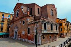 San Martino church, Venice, Italy stock images