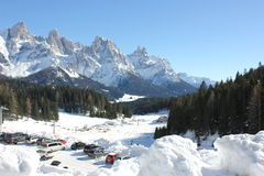 San Martino di Castrozza Stock Images
