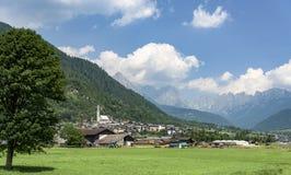 San Martino di Castrozza - Trentino Royaltyfria Foton
