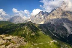 San Martino di Castrozza - Trentino Royaltyfri Bild