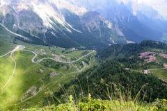 San Martino di Castrozza - Trentino royalty-vrije stock fotografie