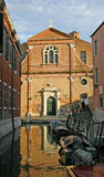 San Martino di Venezia church Royalty Free Stock Images