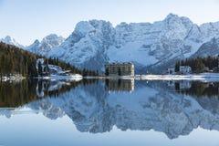 San Martino Dolomite Royaltyfri Bild