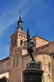San Martrin church. Segovia, Spain Stock Images