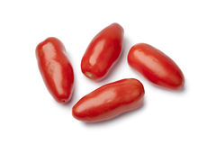 San marzano Tomatoes Stock Photography