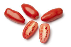 San marzano Tomatoes Royalty Free Stock Photography