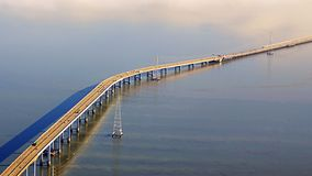 San Mateo Bridge Royalty Free Stock Photography