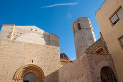 San Mateo sant Mateu de Montesa in Castellon Stock Photography