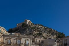 San Matteo church in Scicli. Sicily, Italy Royalty Free Stock Photos