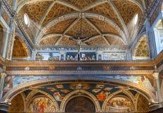 San Maurizio kościół obrazy stock