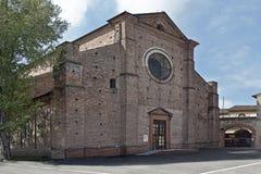 San Mauro church Stock Photo