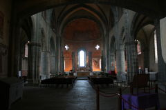 San Michele Abbey Stock Images