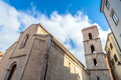 San Michele Arcangelo church in Potenza Royalty Free Stock Photos