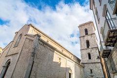 San Michele Arcangelo church in Potenza Stock Images