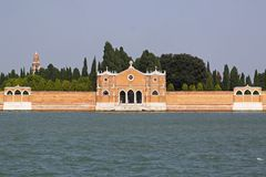 San Michele Cemetery Royalty Free Stock Photo