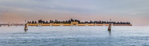 San Michele Cemetery, Venecia Imágenes de archivo libres de regalías